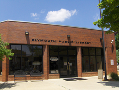 Plymouth Library front