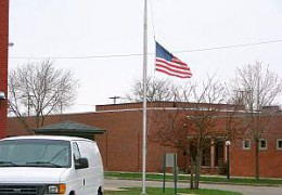 flags at half mast_convention