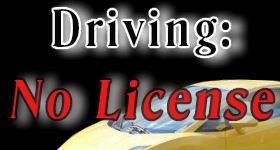 Driving Without a license