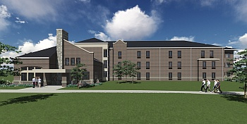 Ancilla_Residence Hall_front