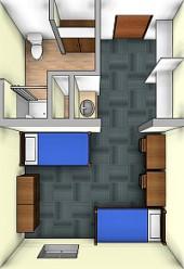 Ancilla_Residence Hall_room
