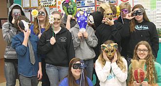 Triton Art masks