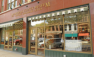 Marshall COunty Museum Front