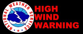 High Wind Warning National Weather Service