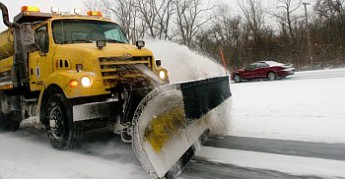 INDOT Snow Plow