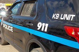Plymouth Police K9 car