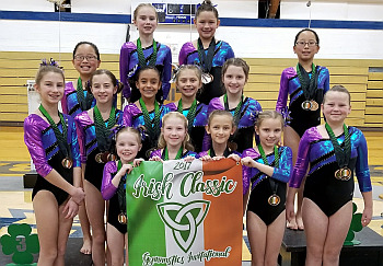 Jana's_2nd Place Bronze Team_Irish Classic2017