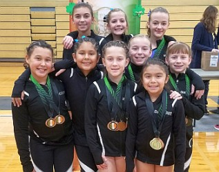 Jana's_4th Place Silver Team_Irish Classic 2017