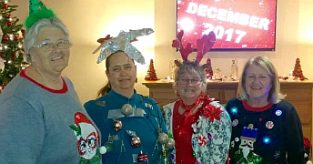 Miller's_Ugly Sweater Contest 2017 winners