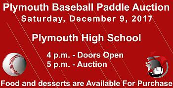 PHS Baseball Paddle Auction 2017