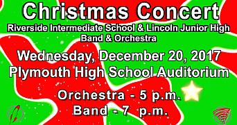 RIS & LJHS christmas concert 2017