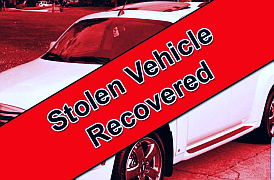 Stolen Vehicle Recovered