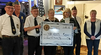 American Legion Donates to Rees Theatre 2018