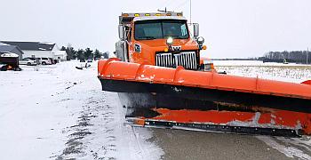 County snow plow