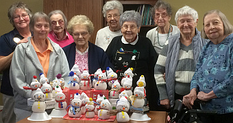 Miller's_Snowmen and residents jan 2018