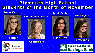 PHS Students of the Month Nov.2017