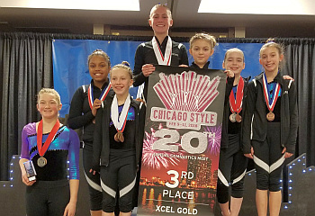 Jana's_Chicago_Gold Team 3rd Place 2018