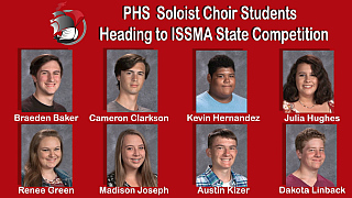 PHS Choir Students Heading the State Competition2018