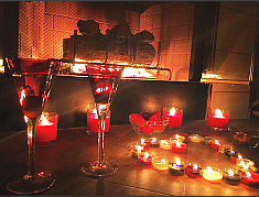 Valentines Day Fire place