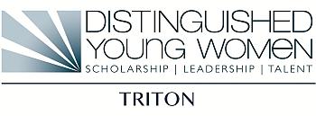 Distinguished Young Woman Triton Logo
