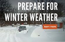 Prepare for Winter Weather