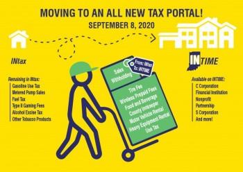 New Tax Portal