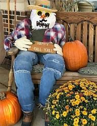 Best Scarecrow _ Maria Center # 3 2020