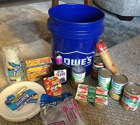 Hurricane Relief_food bucket