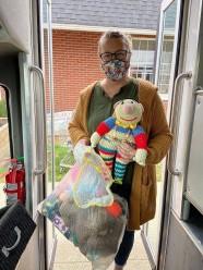 Neighborhoo Center Donations...Yolanda's animals Nov 2020