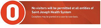 SJHS No Visitors COVID