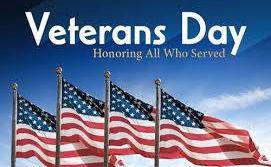Veterans Day 2020 logo